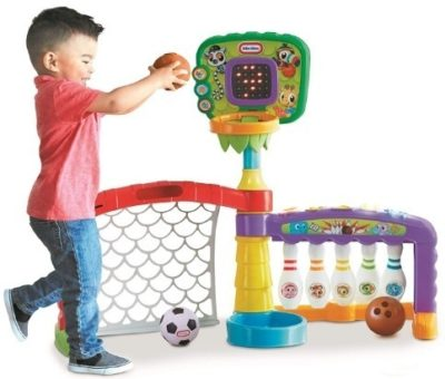 This is an image of infant sports 3 in 1 toy