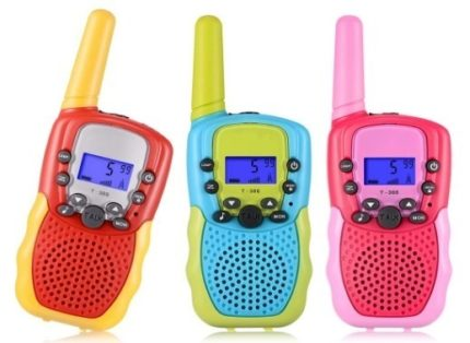 This is an image of kids 3 pack walkie talkies