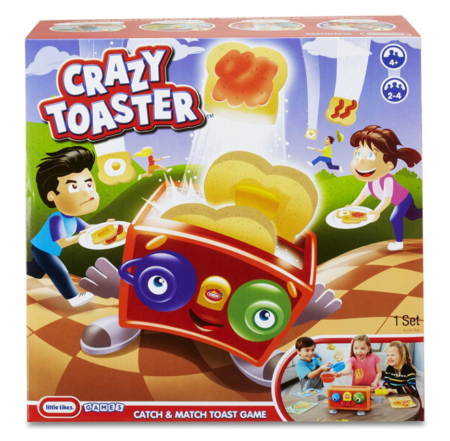 This is an image of a catch and match board game for preschoolers.