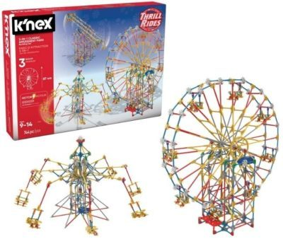This is an image of kids classic park building set by K'NEX
