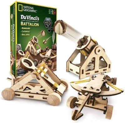 This is an image of national geographic DIY science and engineering consturction kit for kids