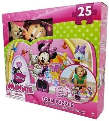 This is an image of disney puzzle mat for girls