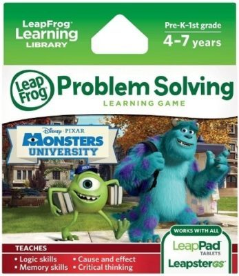 This is an image of kids disney pixar monsters university learning game for kids