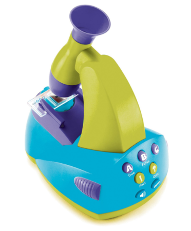 This is an image of a microscope toy for kids.
