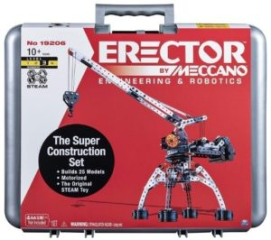 This is an image of kids erector building kit