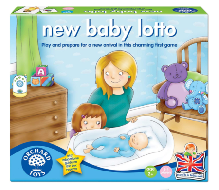 This is an image of a baby's lotto game.