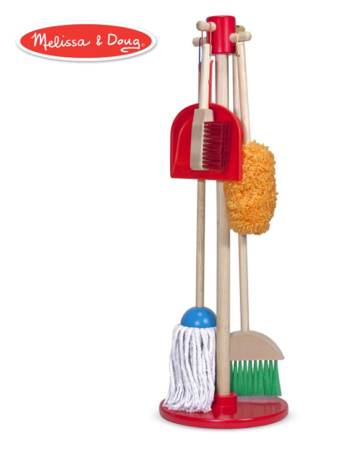 This is an image of a house cleaning tools for kids.