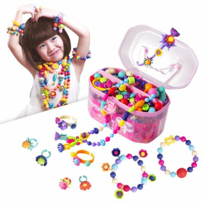 This is an image of girls jewelry making kit