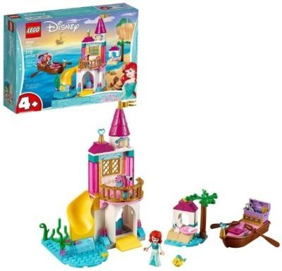 This is an image of girls lego disney ariels seaside castle