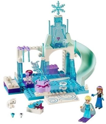 This is an image of girls lego disney frozen