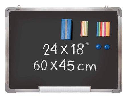 This is an image of a blackboard set for kids.