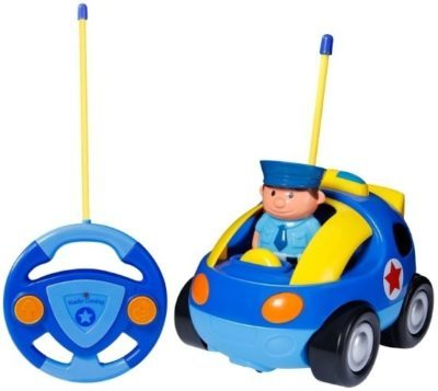 This is an image of kids remote control cartoon car toy
