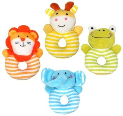 This is an image of kids soft rattle baby toys