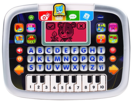 This is an image of a letter button and keyboard tablet for kids.
