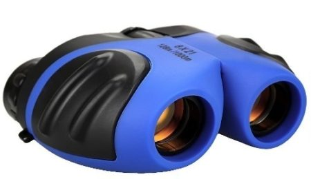 This is an image of kids binoculars for kids in blue color