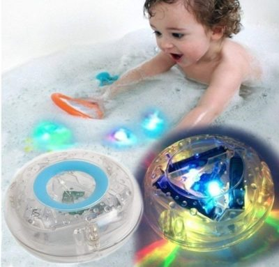 This is an image of baby casemetry with light toy