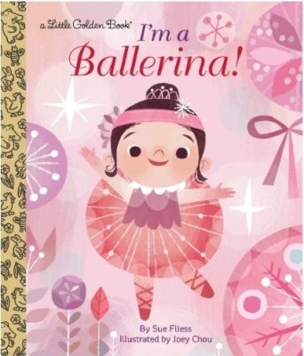 This is an image of baby book i'm a ballerina book