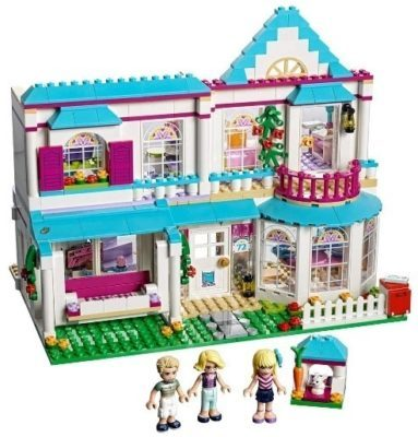 This is an image of girls lego friends stephanies house