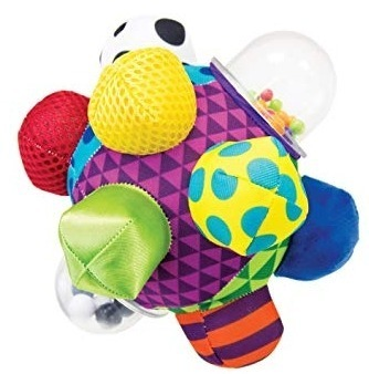 This is an image of baby bumpy ball teether