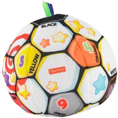 This is an image of baby soccer ball singing