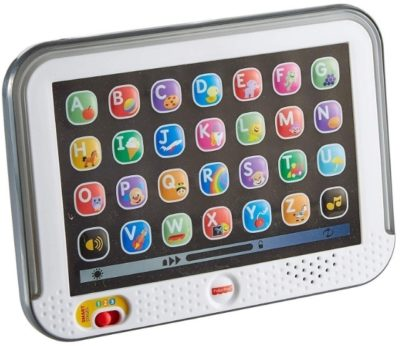 This is an image of baby smart tablet stage in white color