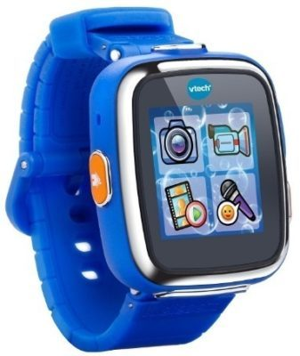 This is an image of kids smartwatch in blue color