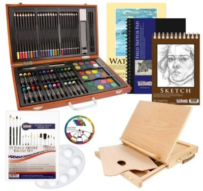 This is an image of boy's art supply pack