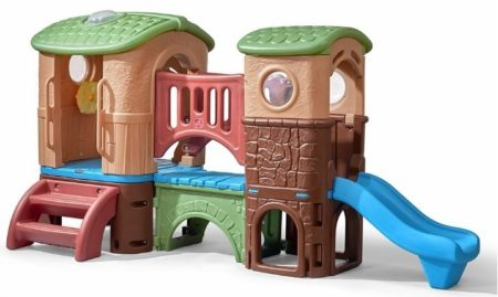 This is an image of toddler's clubhouse climber