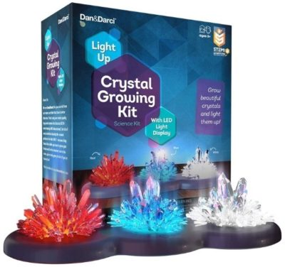 This is an image of boy's crystal growing kit in multi-colors