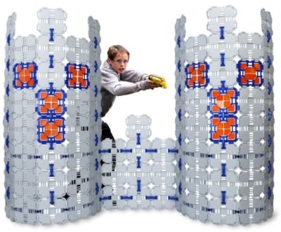 This is an image of boy's fort building kit for nerf wars
