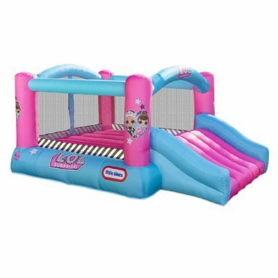 This is an image of a heavy duty inflatable bounce house for girls.