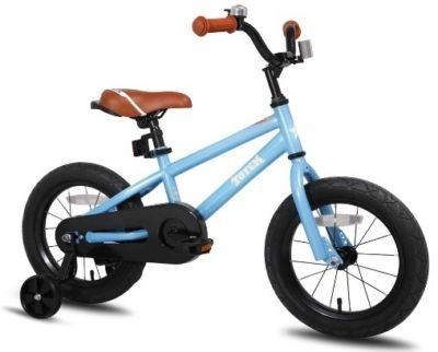 This is an image of boys bike in blue color
