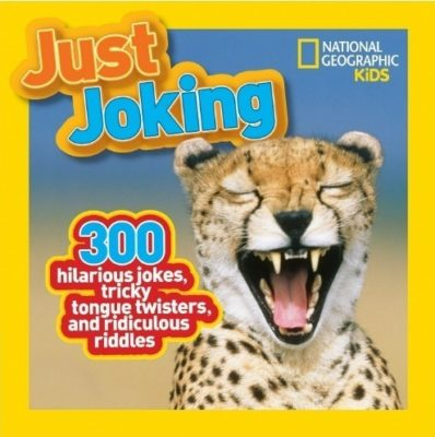 This is an image of boy's just joking book by national geographic kids