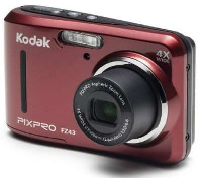 This is an image of teen's kodak friendly zoom digital camera in brown color
