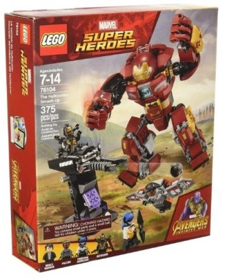 This is an image of boy's LEGO marvel avengers building kit
