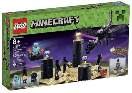 This is an image of boy's Mincraft ender dragon by LEGO