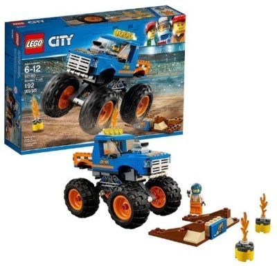 This is an image of boy's LEGO city monster truck building kit