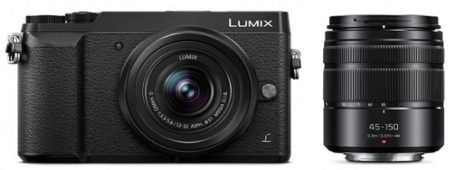 This is an image of teen's Panasonic Lumix 4K digital camera in black colors