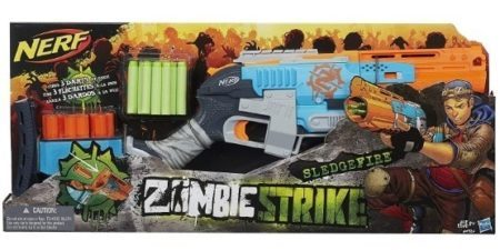 This is an image of boy's nerf gun zombie strike