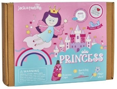 This is an image of girl's princess 3 in 1 activities art and craft kit in colorful colors