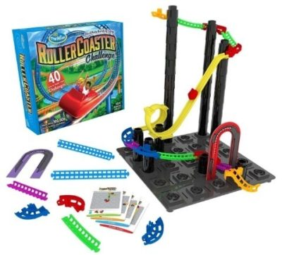 This is an image of boys roller Coaster STEM toy