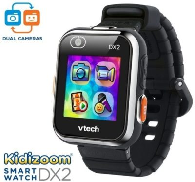 This is an image of boy's smart watch by Vtech in black color