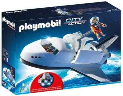 This is an image of boys space building kit in white color