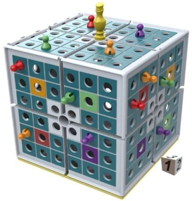 This is an image of boys 3D strategy board game in blue color