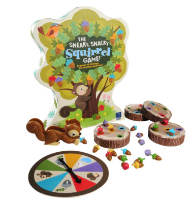 This is an image of an educational squirrel toy game.