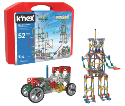 This is an image of a 750 piece building set with storage case for kids.