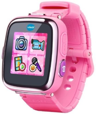 This is an image of girls smartwatch by Vtech version kidizoom in pink color