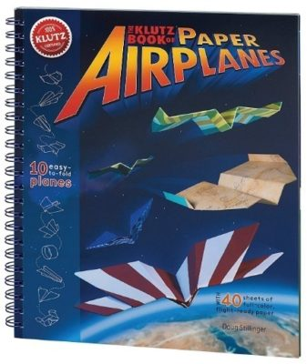 This is an image of boy's book of paper airplanes Craft