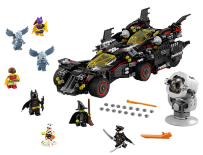 this is an image of boy's lego batman building kit in multi-colored colors