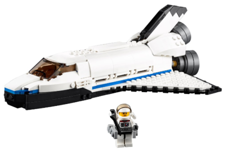 this is in image of boy's lego creator space in white color